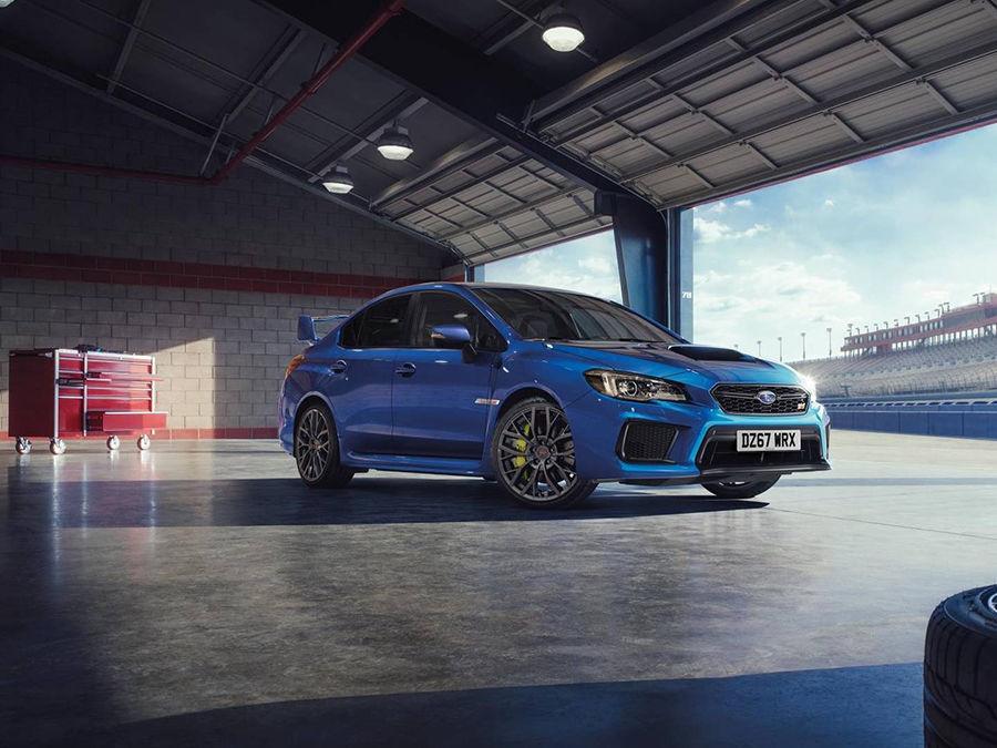 改朝換代的預告!Subaru推出WRX STI Final Edition英國限定車型