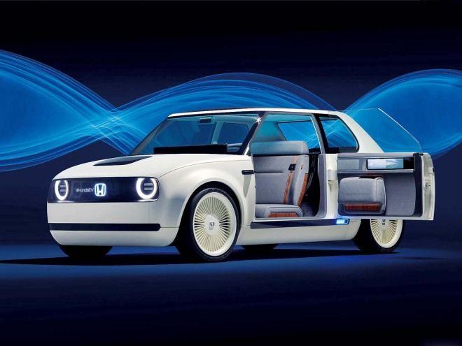 總算盼到的純電本田Honda Urban EV Concept