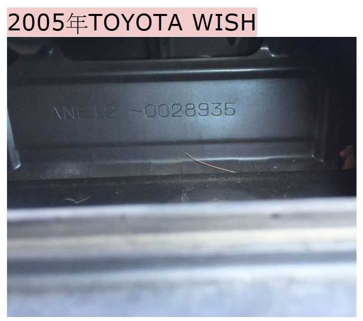如何辨識車身號碼、引擎號碼?