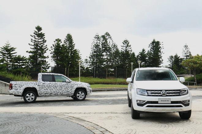 心臟加大 造型配備更精進 剽悍級全能貨卡 VW Amarok 3.0 V6 TDI ARTC體驗