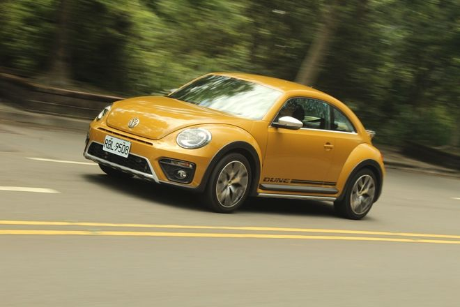 就是要狂放不羈 Volkswagen Beetle Dune沙漠金漆試駕