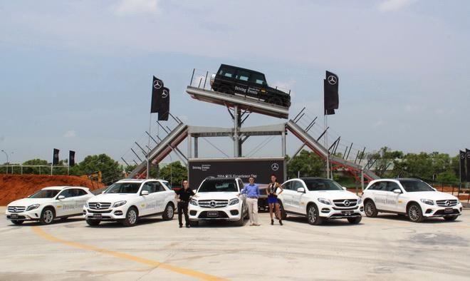 2016賓士休旅越野極限體驗 M-Benz休旅大軍展現真本事 極限攀爬如履平地