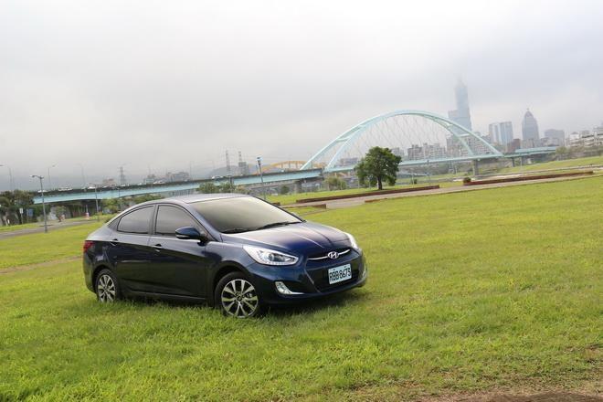 韓式新銳小房車 Hyundai Verna 1.6試駕-外觀內裝篇