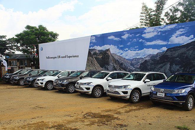 """""""沙漠騎士""""精神在台展現、VW Touareg Off-Road Experience越野體驗"""