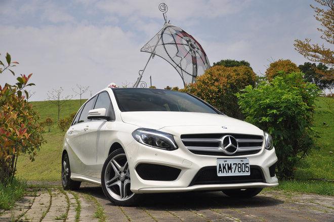 機能性能皆上選---Mercedes-Benz B200 試駕