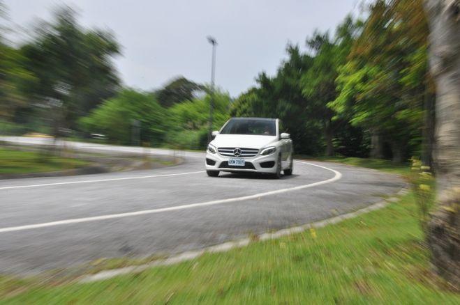 機能性能皆上選---Mercedes-Benz B200 試駕: Page 4 of 4