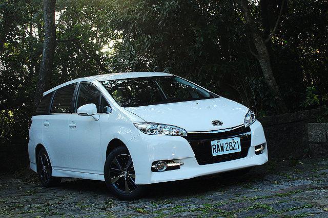 希望號4G科技注入,Toyota Wish Monotone尊爵智慧行試駕