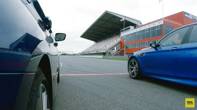 殘酷的K.O. BMW M550i xDrive讓前輩F10 M5難堪