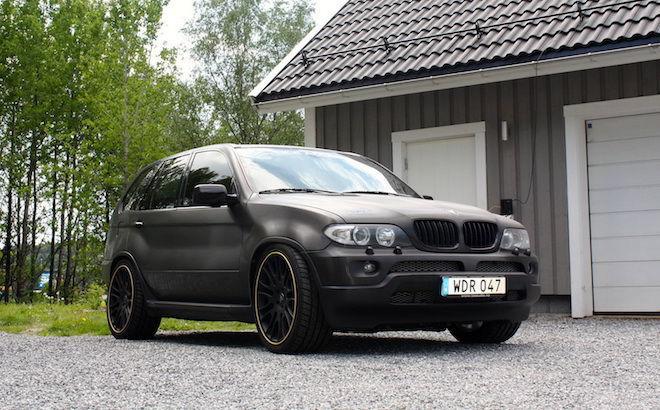 在這輛BMW X5身上,你將看盡國外改裝廠的瘋狂行徑