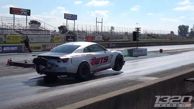400公尺6.88秒搞定 3,000hp ETS R35 GT-R登上GT-R零四加速王位