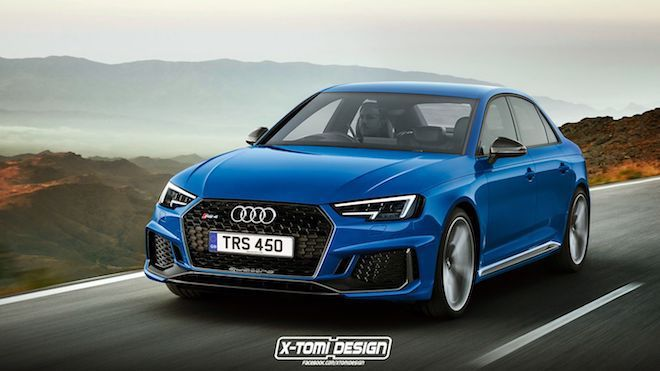 Audi RS4 Sedan是該重出江湖了吧!