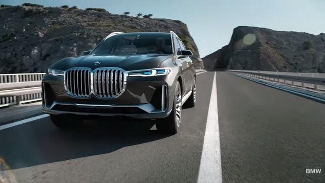 霸王休旅 BMW Concept X7外觀內裝照片出爈