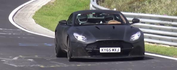 下一代的Aston Martin Vanquish將正面挑戰Ferrari的領域