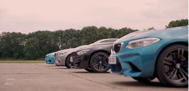 BMW M家族內戰:M2 vs M4 vs M5 vs M6─直線大對決