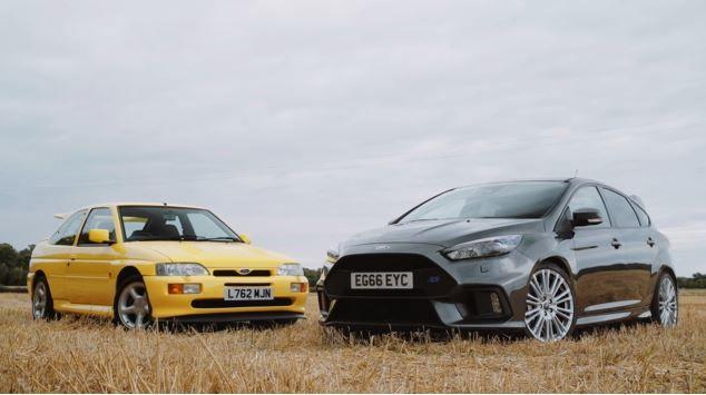 當Ford Focus RS遇上前輩Escort RS Cosworth會擦出甚麼樣的火花呢?