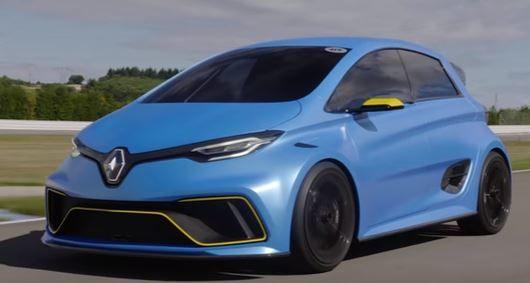請趕快量產!擁有460 hp最大馬力的Renault Zoe E-Sport Concept電動車