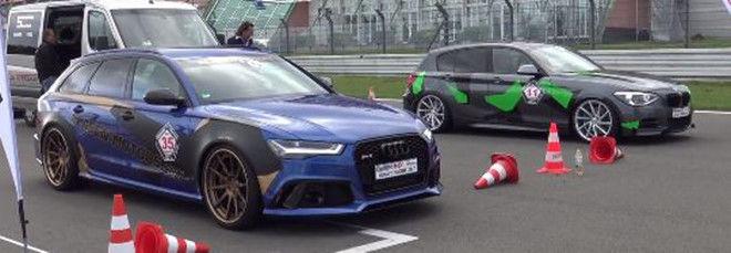 改裝後的Audi RS6 Avant輸出900 hp的最大馬力對這輛車似乎也只是剛好而已