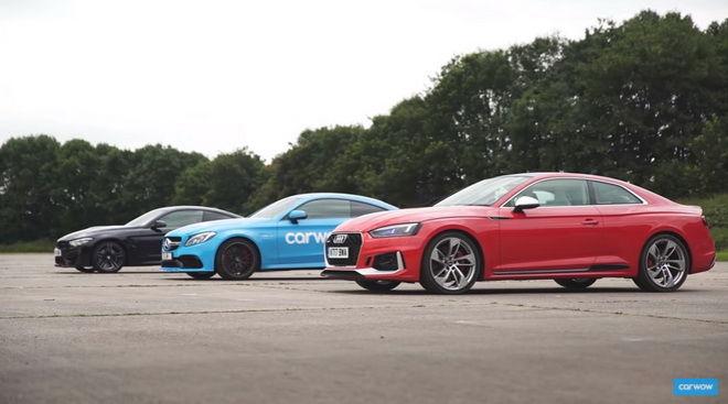 德式性能Coupe直線對決 2018 RS5 vs M4 vs M-AMG C63 S
