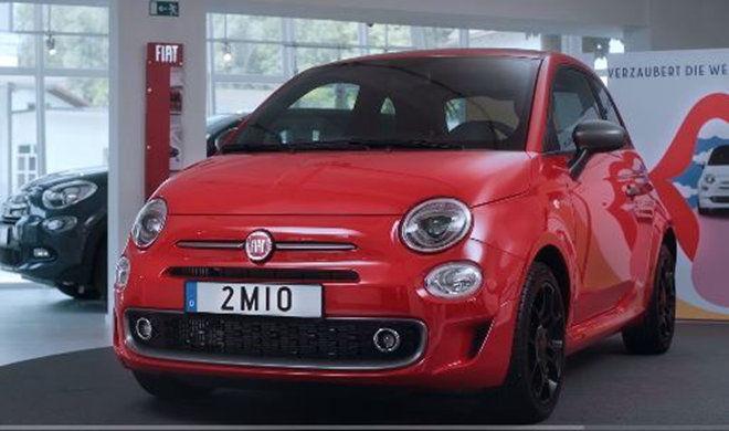 Fiat慶祝第2,000,000輛生產的500車款,將生產到交車給德國客戶的過程做成小短片