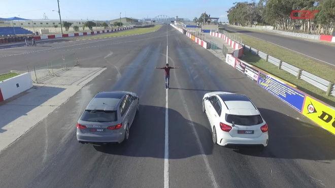熱門鋼砲直線對決 M-AMG A45 VS. Audi RS3 零四之戰
