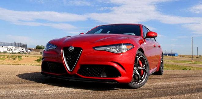 Alfa Romeo Giulia Quadrifoglio比BMW X6 M和Ford Focus RS還要慢?