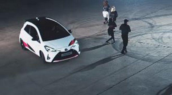 新的Toyota Yaris GRMN廣告告訴你小鴨也能很有活力
