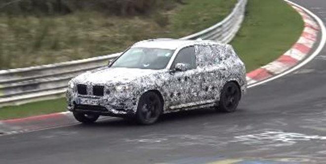 不讓Mercedes-AMG GLC 63專美於前!新的BMW X3 M已在熱身準備中