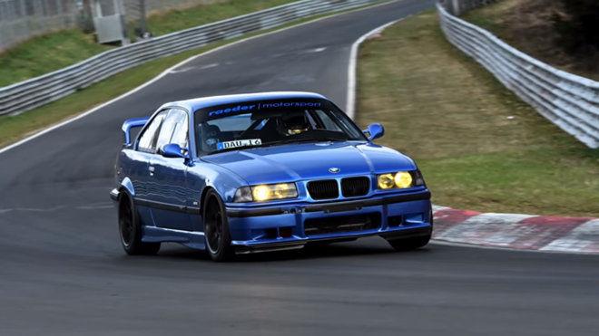 7:31!這輛E36 BMW M3所跑出的成績讓今日一票性能車如坐針氈!|InCar癮車