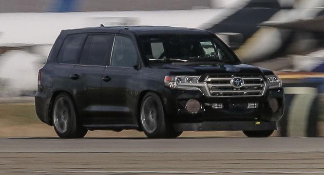 地球最速陸地巡洋艦 Toyota打造時速370公里Land Cruiser 成世上最速SUV王者