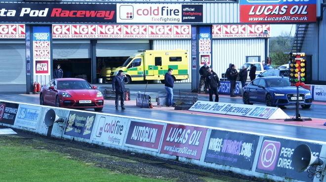 超級房車的戰鬥:Audi RS7 Sportback vs. Panamera Turbo