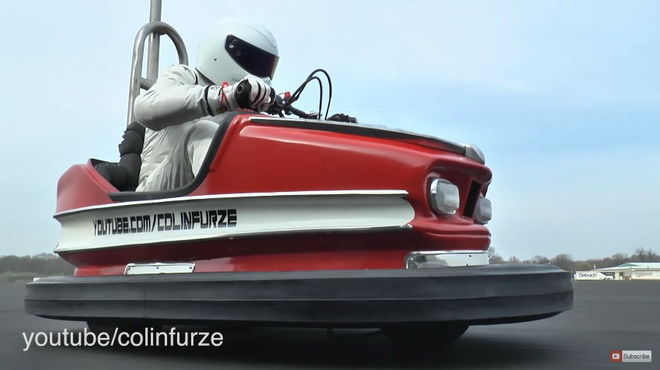 腦袋簡單的Stig創造出碰碰車最速金氏世界紀錄!!!