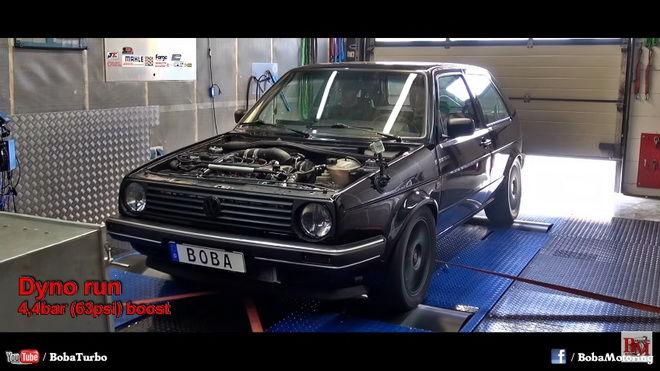 1200hp VW MK2 Golf與眾家Hypercar比加速 贏的了嗎???