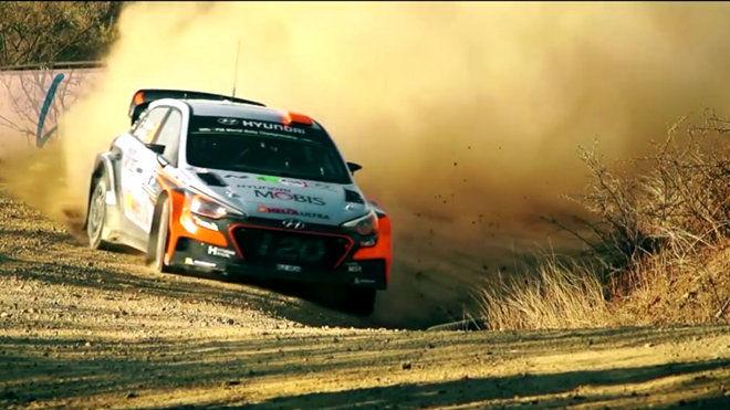 WRC慢動作畫面!賽車力與美的極致展現!