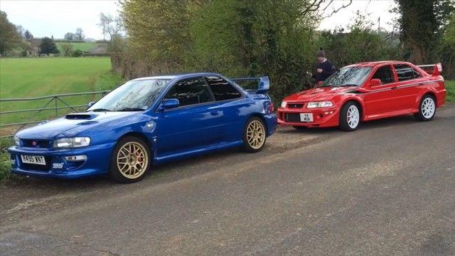 「Subaru Impreza WRX STi 22B」VS「Mitsubishi Lancer Evolution VI T.M.E.」,你今天想選哪一部呢?