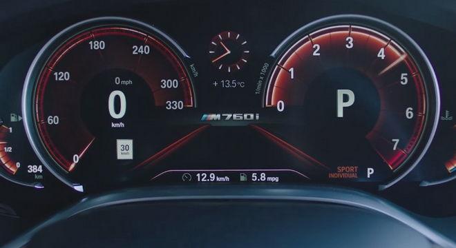 屏住呼吸;BMW M760Li xDrive 0-100km/h僅需3.7秒 比M5還快!
