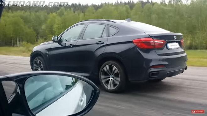同根相鬥 1M Coupe VS. X6 M50d 誰快???