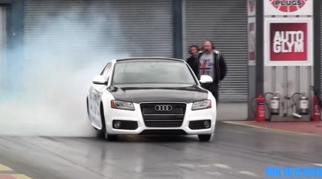 世界上最快的Audi A5 1200匹馬力直線發威