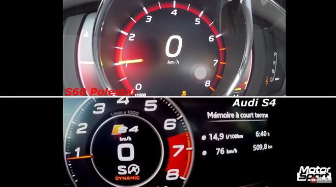 德瑞之戰 Audi S4 vs. Volvo S60 Polestar 0-240km/h對決