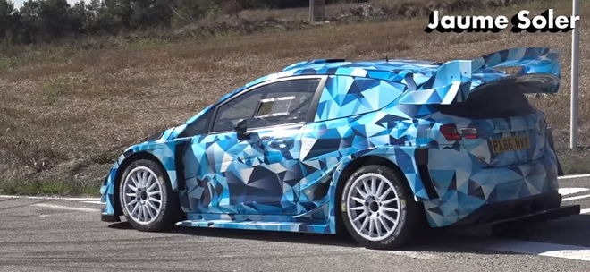 2017 Ford Fiesta WRC賽車封路帥氣試車
