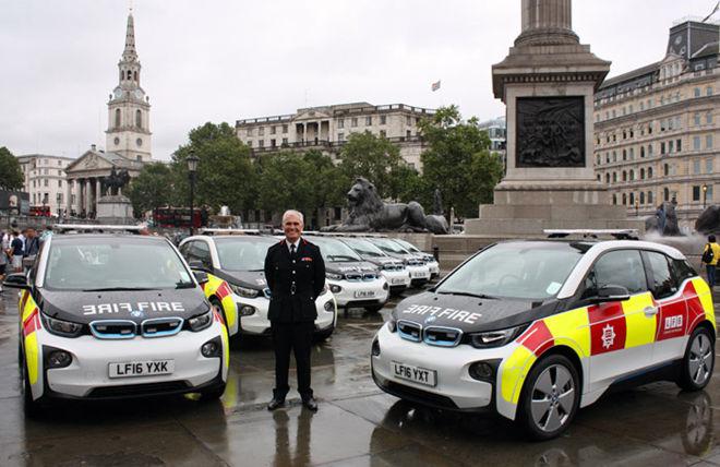 [影片]英國倫敦消防隊買下52輛BMW i3作為公務用車