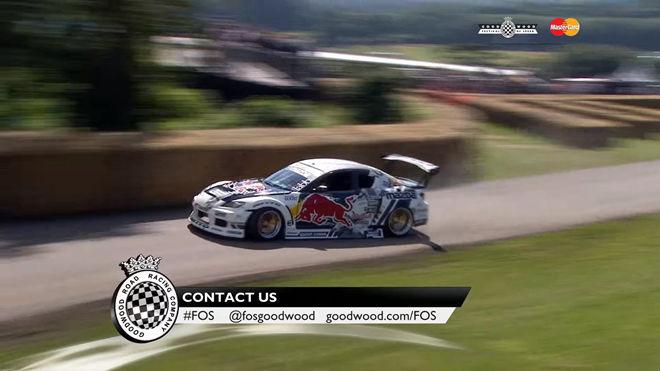 [影片]「Red Bull」甩尾車手「Michael Whiddett」駕著「812hp」RX-8 瘋狂甩上山
