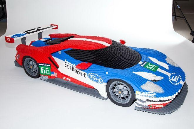 決不是你眼花 LEGO樂高Ford GT「擬真版」