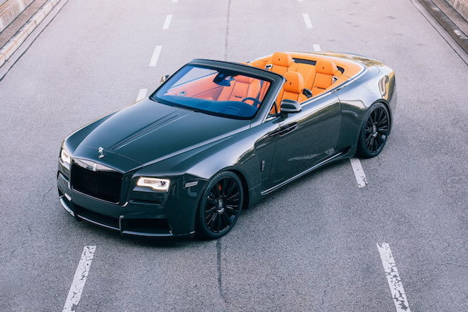 繼Wraith之後,「Spofec」再度發表Spofec Rolls-Royce Dawn Convertible Overdose!僅以限量8台販售