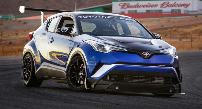 Toyota C-HR R-Tuned有能力打破Nurburgrin北環FWD記錄! 拜託快去破啦~~~