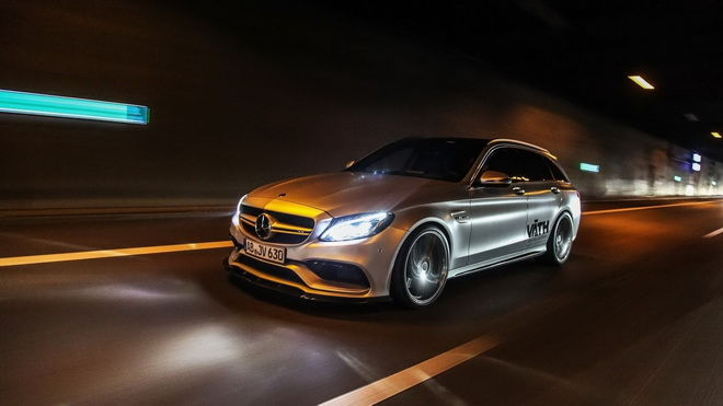 VATH打造700hp Mercedes-AMG C63 Estate 極速與911 GT2 RS一樣快!