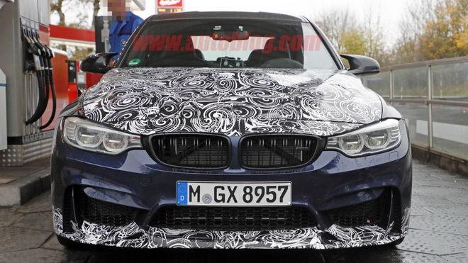 BMW F80 M3最強戰將 2018 BMW M3 CS測試車現身Nurburgring