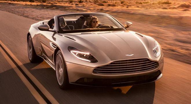 503匹英倫俊俏敞篷車亮相 Aston Martin揭示V8雙渦輪DB11 Volante