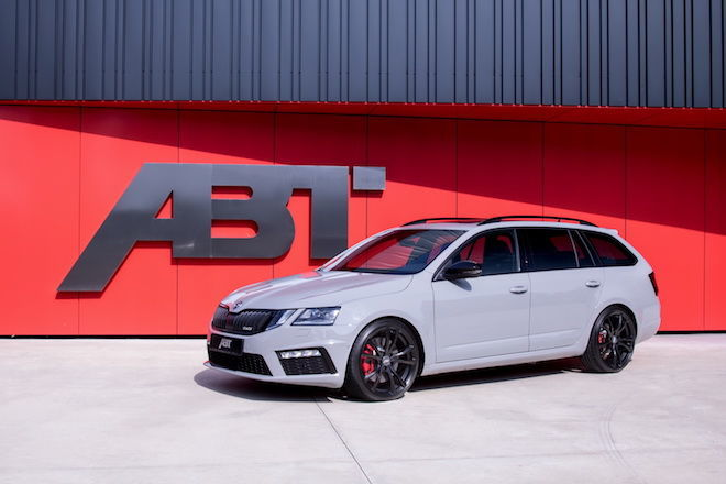 ABT針對Octavia RS進行全面性的強化,這下好爸爸用車又提升了一個檔次了!