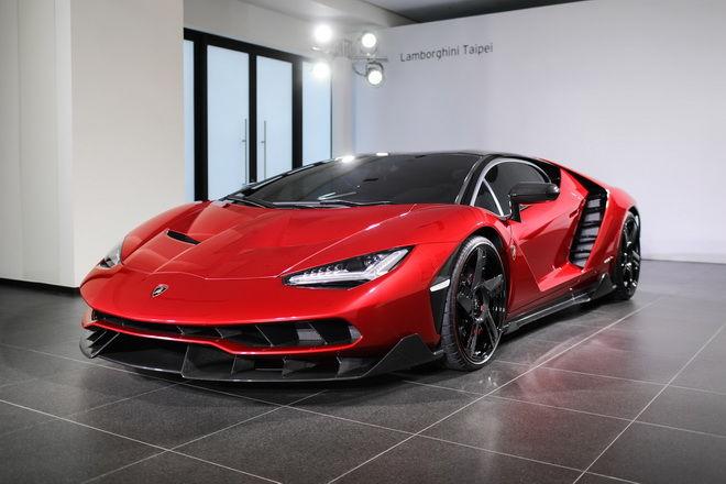 再造不凡 Lamborghini Centenario正式在台領牌