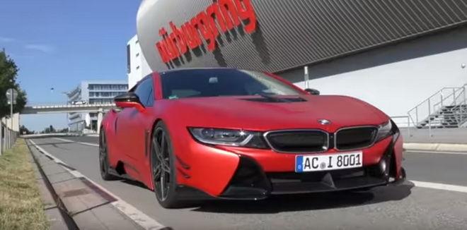 AC Schnitzer帶著自家改造的BMW i8下